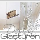 Exklusive Design Glastüren